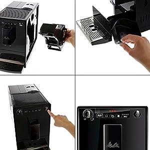 CAFFEO Solo Pure Black E 950-222 schwarz ohne Chrom, 1er Pack