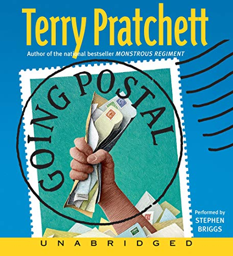 Going Postal Audiobook By Terry Pratchett cover art
