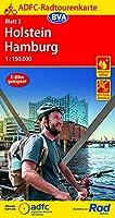 ADFC-Radtourenkarte 2 Holstein Hamburg 1:150.000, reiss- und wetterfest, GPS-Tracks Download