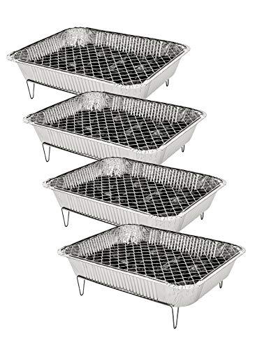 Garronda Barbecue USA e Getta con carbonella 1-4 Pack DN02 (4 Pack)