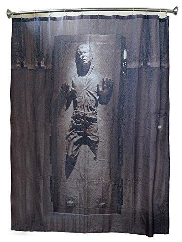 Duschvorhang, Han Solo in Karbonit