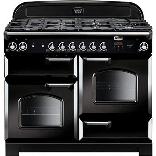 Piano de cocina de gas falcón Classic 110 cla110dfbl/c-eu negro