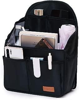 IN Backpack Organizer Insert,Nylon Organizer Insert for Backpack Rucksack Shoulder Bag Woman MCM divider foldable …