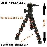EQT-TEC - Trípode de mesa flexible para cámara digital de acción