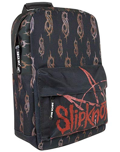 Rock Sax Slipknot Wait and Bleed Backpack