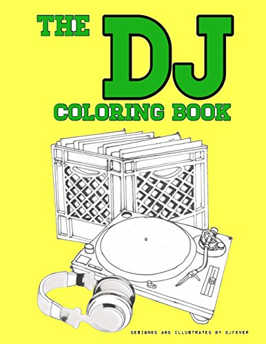 The DJ Coloring Book