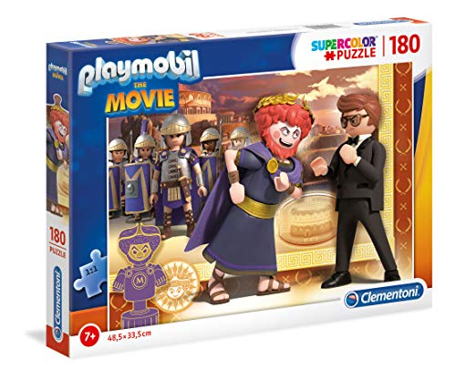 Playmobil   Puzzle (180 Piezas, para niños a Partir de 7 años), Color Multicolor. (29162)