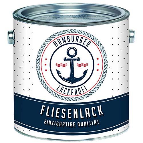 Fliesenlack MATT Anthrazitgrau RAL 7016 Grau Fliesenfarbe im SET // Hamburger Lack-Profi (1 L)