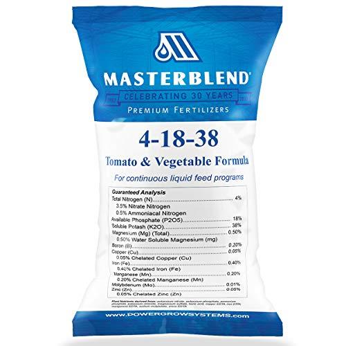 Masterblend 4-18-38 fertilizer