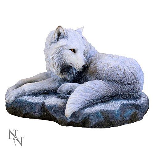 Nemesis Now Dekofigur Guardian of The North Lisa Parker, 26 cm, Weiß, Kunstharz, Einheitsgröße