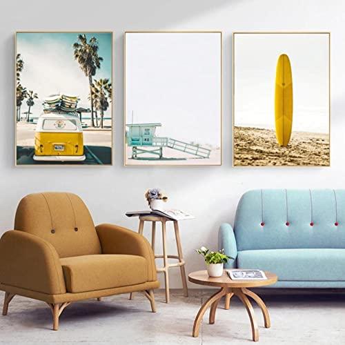 impresiones de fotos sobre Lienzo Surf de California Impresiones Sobre Lienzo Cuadros...
