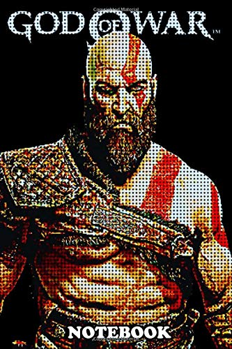 Notebook: Pixels Kratos , Journal for Writing, College Ruled Size 6