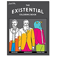 "24 page coloring and activity book 8"" x 10-1/4"" Color examples of the unfathomable nature of reality Not for kids, unless they're smart and weird"