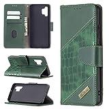 Sac de téléphone portable Cas pour Samsung Galaxy A32 (4G) Multifonctionnel Portefeuille Mobile...