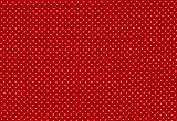 hochwertiger Baumwollstoff Pünktchen rot (10 cm)