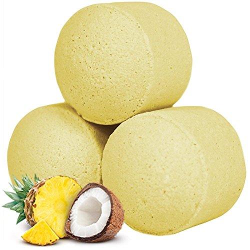 Sachet de 10 minis boules de bain - Pina Colada