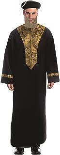 Dress up America - Disfraz de rabino Sefardí para Adulto,, Talla L (844-L)