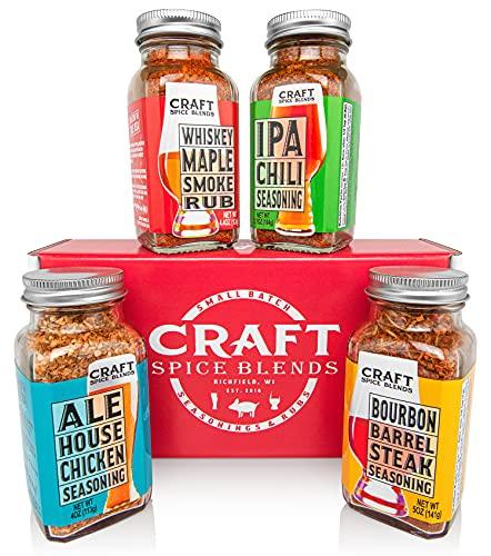 Craft Spice Blends Gift Set (Grilling Seasonings & Rubs)