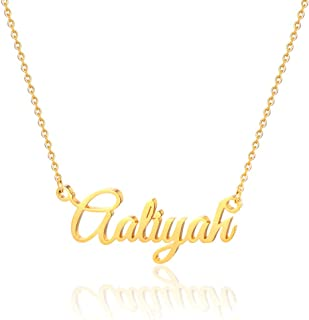 Aaliyah Name Necklace