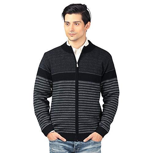 aarbee Men's Wool Round Neck Sweater