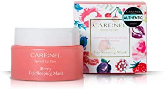 CARENEL Berry Lip Sleeping Mask 23g - Lip gloss and Moisturizers Long lasting Night Treatments Lip care balm Chapped crack...