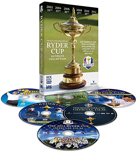 Ryder Cup Official Ultimate Collection 2002-2012 [DVD] [Reino Unido]