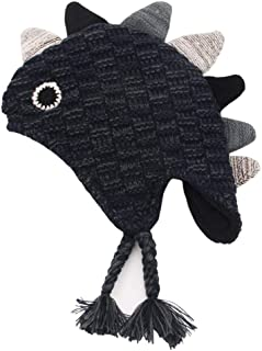 Dinosaur Kids Hat Cap, Suitable for 2-10 Old Kids with 23 inch Head Circumfere Length Girls & Boys Children