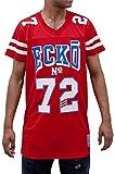 Ecko Hombres Niños Macabee Estrella Suéter Fútbol Americano Baloncesto Camisetas El Tiempo Es G Money - sintético, Rojo, 100% poliéster, Hombre, Chica