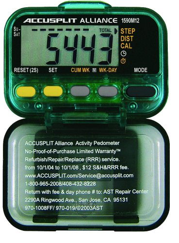 ACCUSPLIT AL1590M12 Pedometer