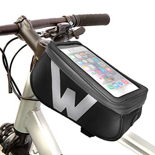 Wantalis Bike-Case Tasche für Erwachsene, Unisex, Schwarz, Einheitsgröße