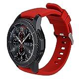 Bazal 22mm Correa Silicona Pulseras Bandas Compatible con Samsung Galaxy Watch 3 45mm/Galaxy Watch...