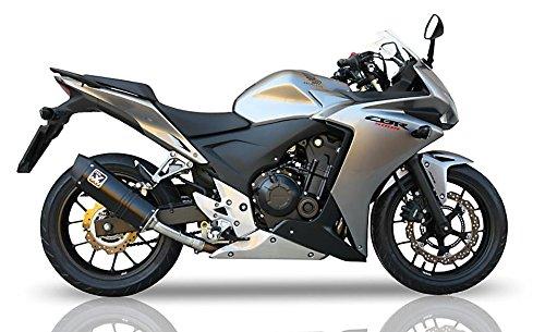 Silenziatore Motorize-IXIL HEXOVAL XTREM adatto per Honda CBR 500 R/CB 500 F, 16 (Euro4)