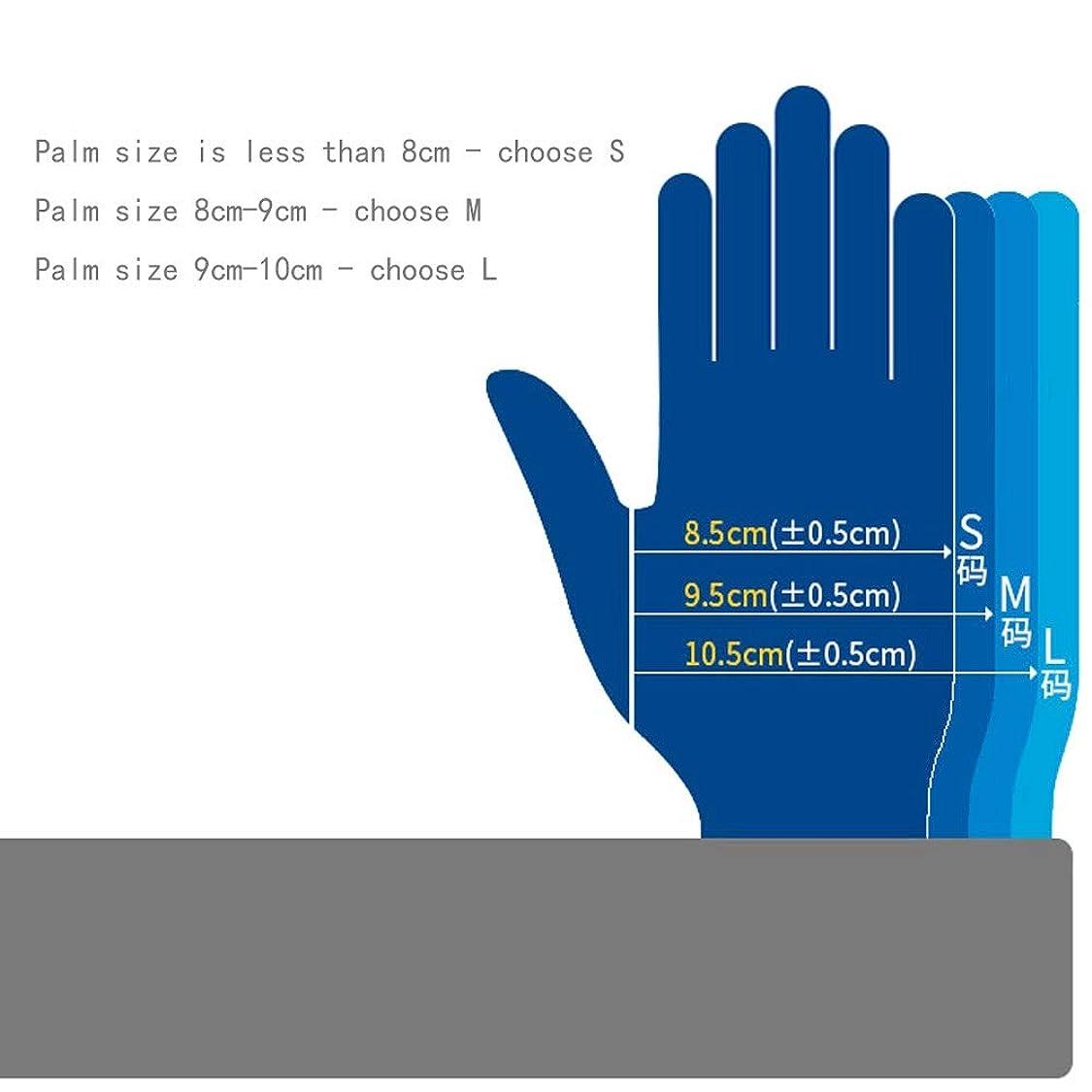 経度ペデスタル債務者応急処置用品クリーンルーム、クラスニトリル手袋、長さ12