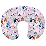 jumpXL Funda de almohada de apoyo para lactancia materna, ayuda a la lactancia, funda de cojín decorativa