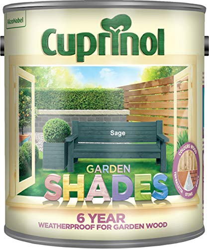 Cuprinol 5083479 Garden Shades Exterior Woodcare, Sage