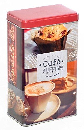 AVENUELAFAYETTE Boîte à café Vintage rétro en métal