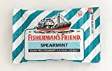 Lofthouse's Fisherman's Friend Sugar Free Spearmint Flavor 22 Lozenges (Pack of 6)