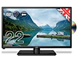 Cello ZRTMF0222 12 volt 22' Traveller Caravan TV Freeview HD DVD & Miracast