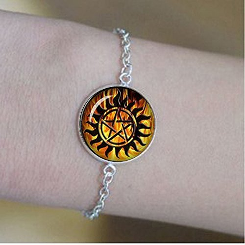 qws Winchester Anti-Dämonen-Tattoo-Armband Supernatural