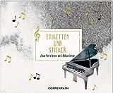 Stickerbuch - All about music - Etiketten und Sticker: Zum Dekorieren und Verzieren
