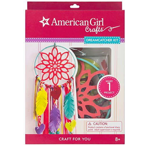 American Girl Crafts Make Your Own Dreamcatcher Craft Kit, 6.5'' W x 9.5'' H