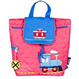 Wildkin Quilted Backpack for Toddler Boys and Girls, Perfect Size for Daycare, Preschool