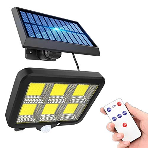 KTLSHY 150 LED Light LED Servidor Sensor DE Movimiento AUTRIENTE JARDÍN LED LED Lámpara Solar Focos para la Calle de la Calle del jardín LED de la Pared LED
