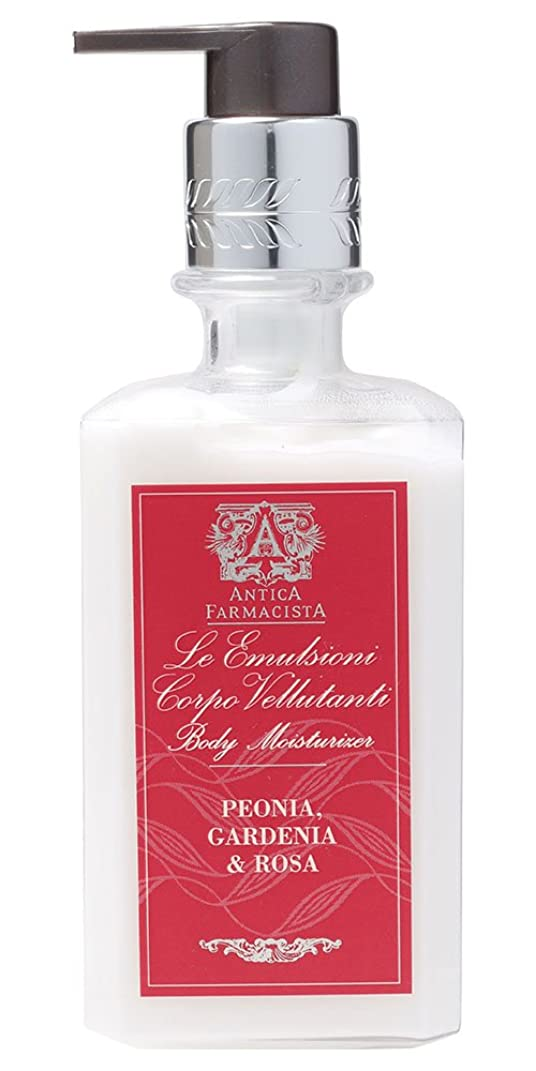 供給物理的な引き算Antica Farmacista ボディローション ピオニア ガーデニア&ローザ 296ml