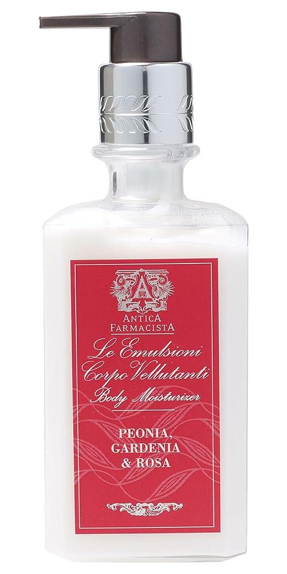 招待かび臭いおしゃれなAntica Farmacista ボディローション ピオニア ガーデニア&ローザ 296ml