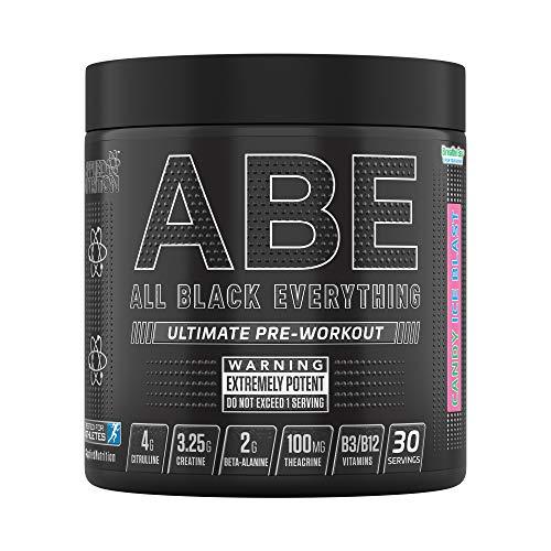 Applied Nutrition ABE - Todo Negro Todo, Caramelo Hielo Explosión
