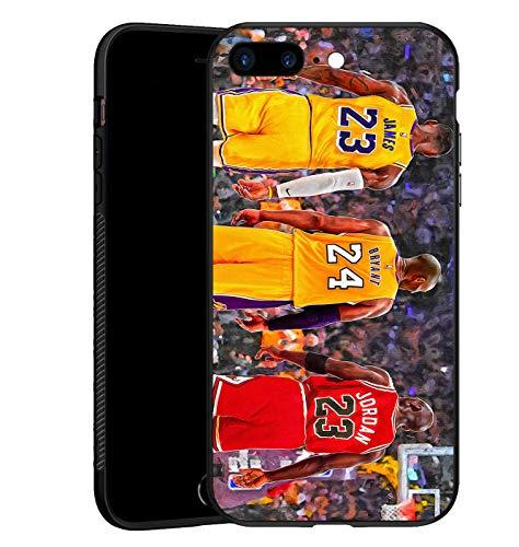 Carcasa para iPhone 7 Plus/8 Plus, Top 3 de la historia, TPU negro ultrafina para iPhone 7 Plus/8 Plus