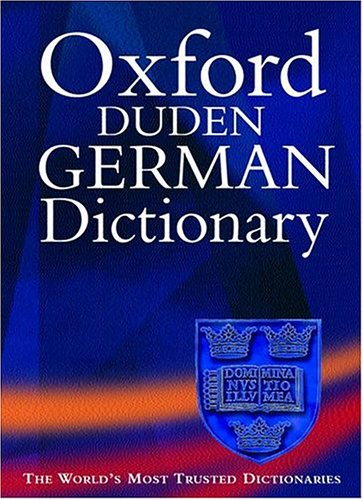 Oxford Duden German Dictionary, German-English/English-German, with thumb-index