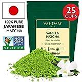Vanilla + Matcha Green Tea Powder - Brew Delicious Vanilla Matcha Latte |