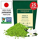 VAHDAM, Vanilla Matcha Grüner Tee | 100% REINER japanischer Herkunfts-Matcha-Teepulver | 137x...
